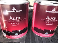 Benjamin Moore Aura Exterior Paint Satin Finish $50 / $80 for both. Whitchurch-Stouffville, L4A 4K1