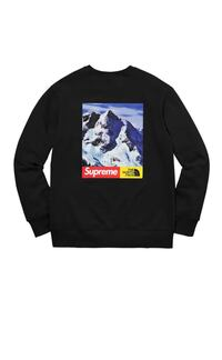 supreme north face mountain crewneck sweatshirt black size M College Park, 20740