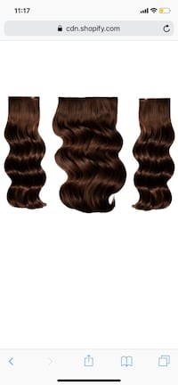 "BELLAMI 20"" Hair Extension Set in Dark Brown Seattle, 98126"