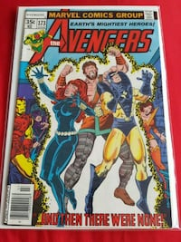 The Avengers comic book Marvel