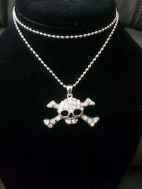 New Chain with Pendant.  Happy Halloween.  Toronto, M2M 4B9