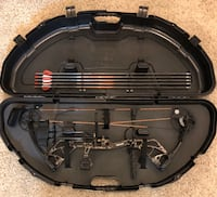 Left Handed Bear Species Compound Bow