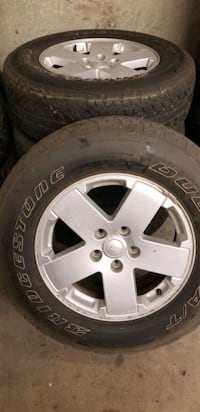 Jeep wheels and tires used  Fullerton, 92833