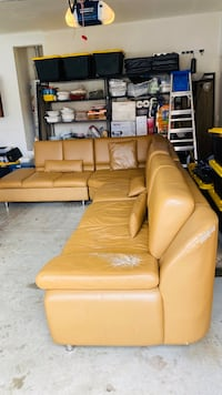 Free sectional Leather sofa