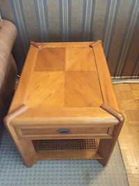 Solid Wood End Table Burlington, L7R 1C9