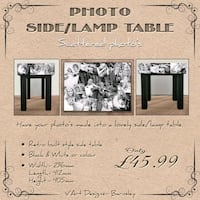 Photo side /lamp table  South Yorkshire, S75 1AP