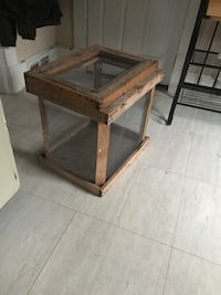 Hand built cage for reptiles,hermit crabs etc. in great condition. Port Jervis, 12771