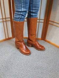 Double H cowboy real leather   size 7