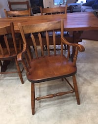 Solid Pine Table & 4 chairs Sherwood Park