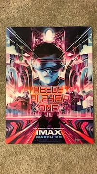 Ready Player One 1 Movie Poster
