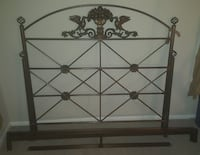 metal Full size bed frame