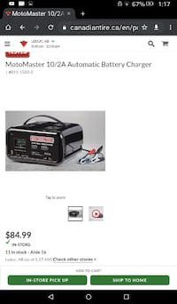 Motormaster automatic and manual battery charger for vehicles