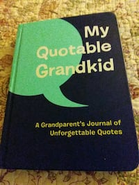 New never used grandparents Journal