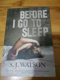 Before I Go To Sleep Book (Thriller) Montreal, H8R 2T1