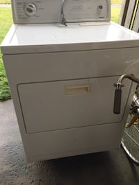 white front-load clothes dryer East Petersburg