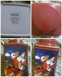Coca Cola Holiday Canister. Santa Claus Gaithersburg, 20878