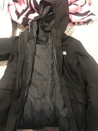 2in1 North face winter jacket