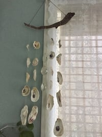 Handmade shell and vintage crystals wind chime Stratford, 06615