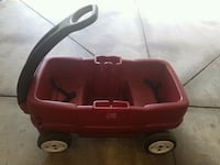 red and black Little Tikes pull wagon Springfield