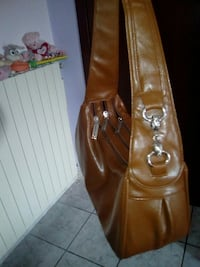 borsa in pelle marrone Frosinone, 03100