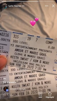 Keith sweat concert Metairie, 70001