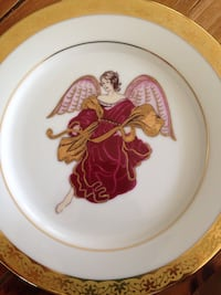 Four angel plates, never used. West Islip, 11795