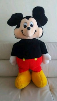 Stuffed plush Disney Mickey Mouse