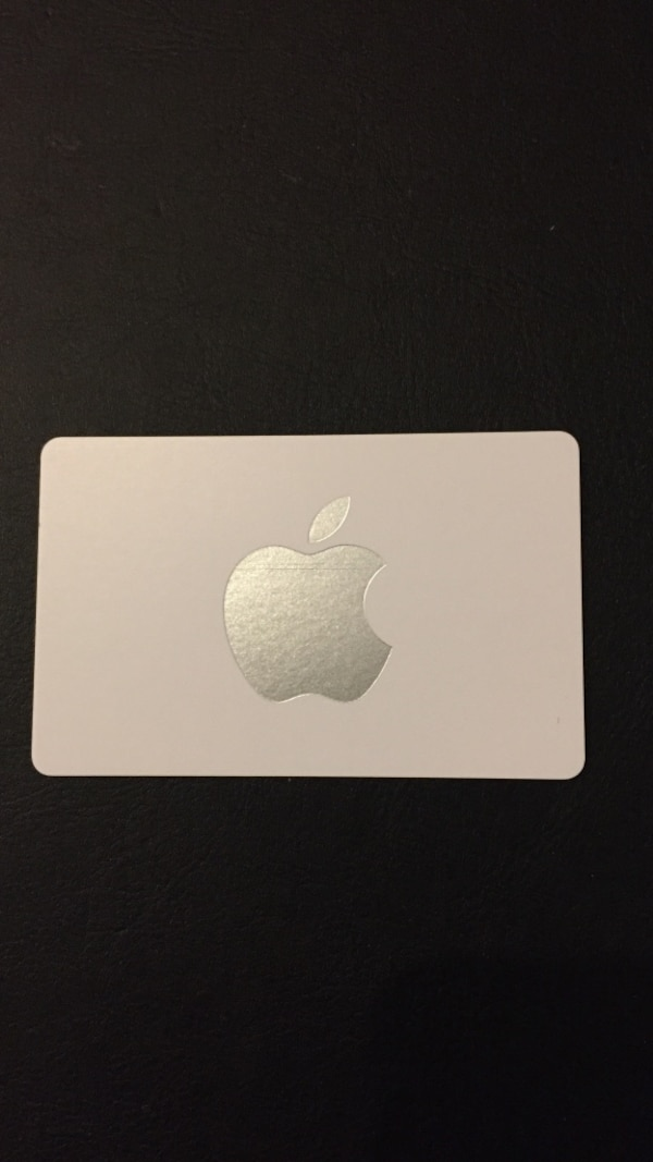 Apple Store Gift Card $25 Value