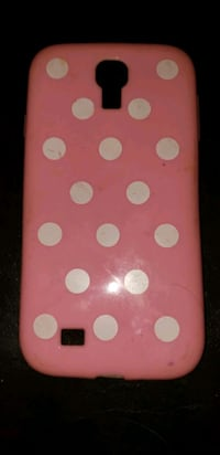 Pink Samsung galaxy s4 with white polka dots Glendale, 85304
