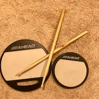 Ahead single sided mountable practice pads LOOKING TO MOVE THESE ITEMS. MAKE ME A REASONABLE OFFER. CROSS POSTED.  Land O Lakes, 34639