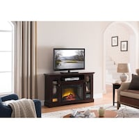 TV stand with electric fireplace Lorton, 22079