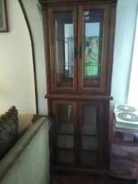 brown wooden cabinet New Galilee