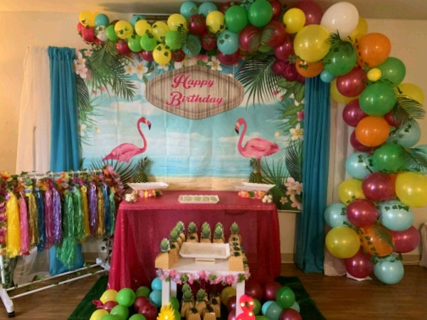 For rent: Flamingo full party package w costumes