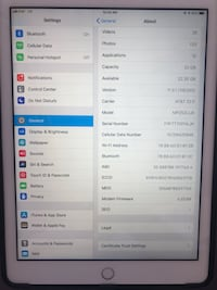 iPad 5th generation 32gb LTE and WiFi El Paso, 79912