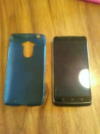 black LG android smartphone with case Rogersville, 37857