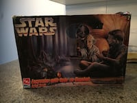 Yoda and young Skywalker model kit 1977