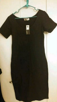 Black short-sleeved dress Lansdowne, 21227
