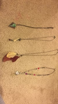 Four necklaces  Lacey, 98513