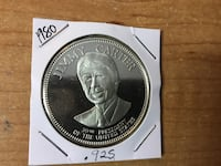 Uncirculated 1980 Jimmy Carter Commemorative Coin