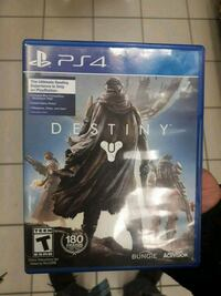 PS4 Destiny game case screenshot Toronto, M1L 2L9