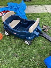 Little tikes pull cart