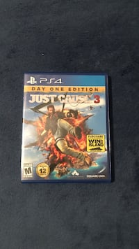 Sony PS4 Just Cause 3 game case La Vista, 68128