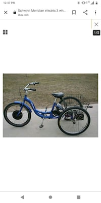 A 3-wheel Schwinn  Edmond