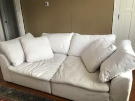 """""""Slouch Couch"""" only four months old"""