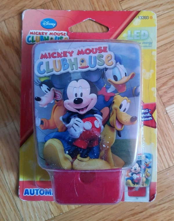 Disney's: Mikey Mouse Clubhouse - LED Night Light f8cc1c64-7a97-4b48-a849-40072241b7ce