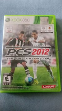 PES 2012 GAME XBOX 360 Naperville, 60563