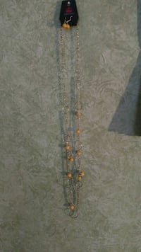 gold and diamond studded necklace Warren, 44483