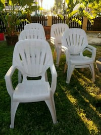 15 Resin chairs  Los Angeles, 91401