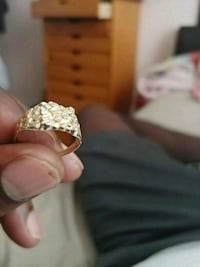 gold-colored diamond ring Worcester, 01610