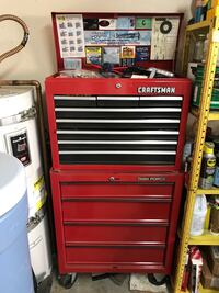 CRAFTSMAN TASKFORCE TOOLBOX AND ALL CONTENTS